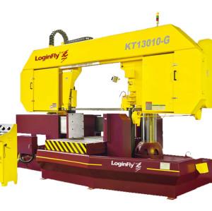 KT13010-G dragon gate horizontal metal cutting band saw machine for sale china