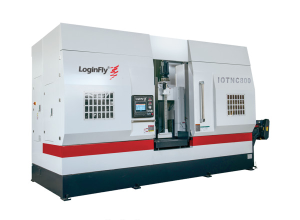 IOTNC800 full automatic metal band saw cutting machine