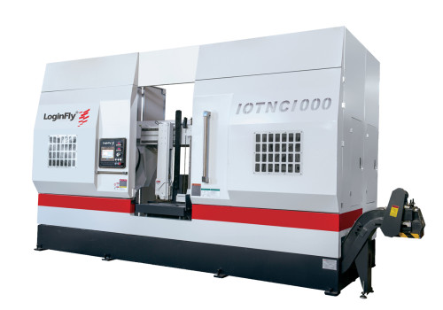 IOTNC1000 full-auto servo feed nc control band saw machine