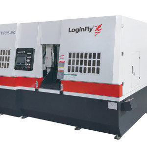 IOTNC600 full automatic horizontal band saw machine for metal cutting