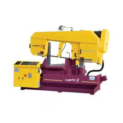 KT6140-X Rotating semi-auto band saw machine