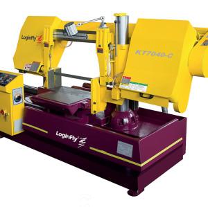 KT7040-C horizontal metal cutting hydraulic single column band saw machine