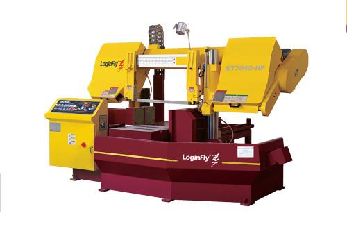 KT7040-HP hydraulic horizontal semi auto band saw metal cutting machine for sale