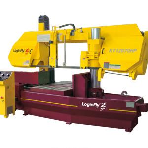 KT12070-HP semi auto metal bundle cut band saw machine