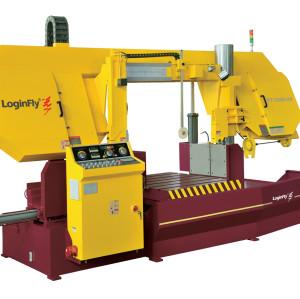 KT12080-HP semi automatic horizontal bandsaw metal cutting machine