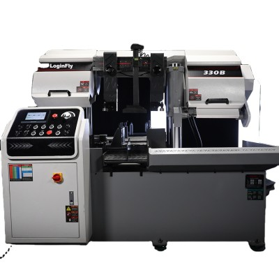 CH-330B Automatic horizontal cnc band saw metal cutting machine