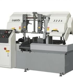 CH-330A horizontal automatic metal cutting band saw cnc cutting machine