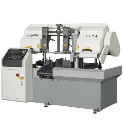 horizontal automatic band saw cnc metal cutting  machine