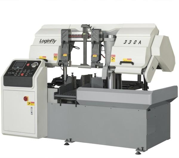 CH-330A horizontal automatic metal cutting cnc band sawing machine