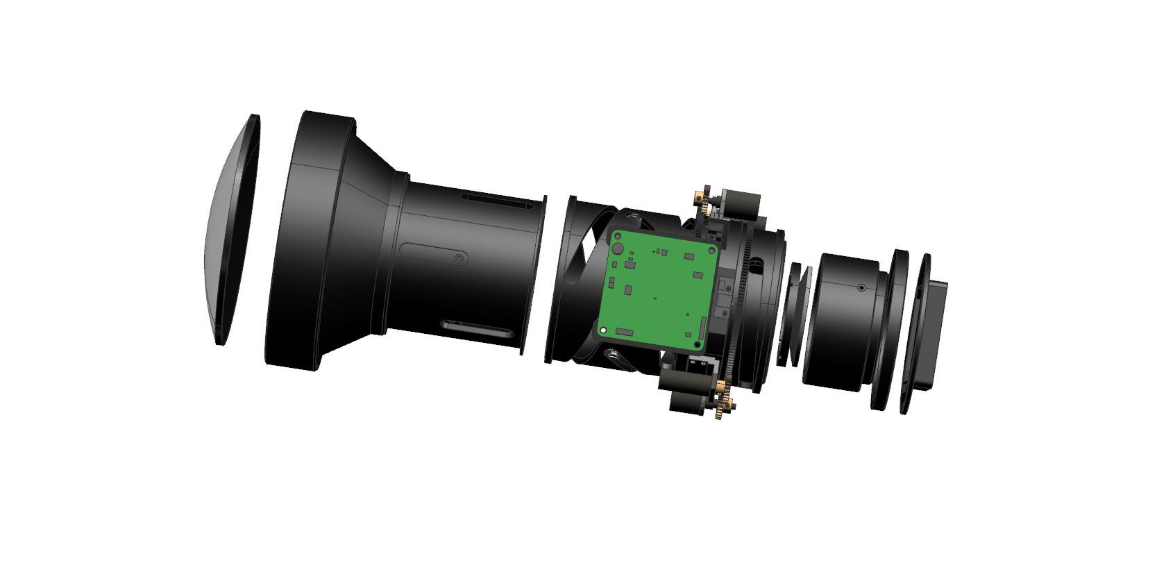 six reasons for the poor image quality of the infrared continuous zoom experience