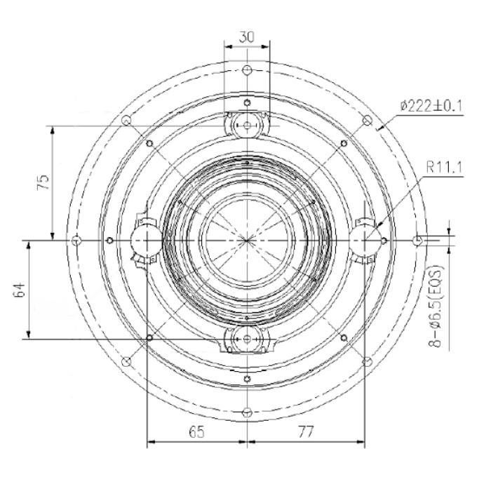 عدسة LWIR ذات زووم مستمر عالي الدقة مقاس 25-225 مم f / 0.8 / 1.0 (HD) | 1280 × 1024 12 ميكرومتر