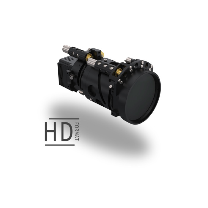 LWIR Continuous Zoom HD Lens 25-75mm f/1.0-1.2 | 1024x768 12μm