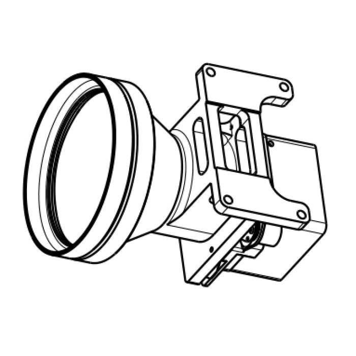 Fixed Athermalized IR Lens 60mm f/1.0