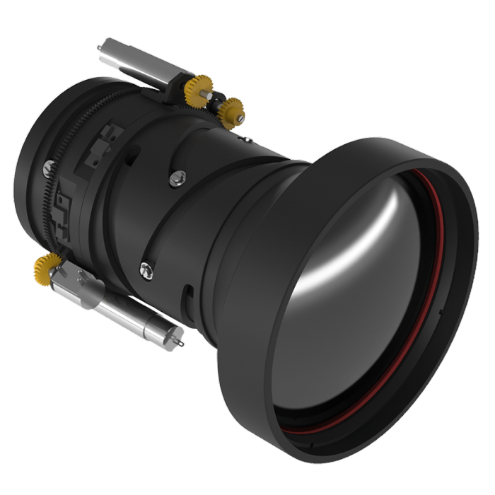 Optical Continuous Zoom Infrared Lens | LWIR Lens 25-125mm f/0.8-1.2