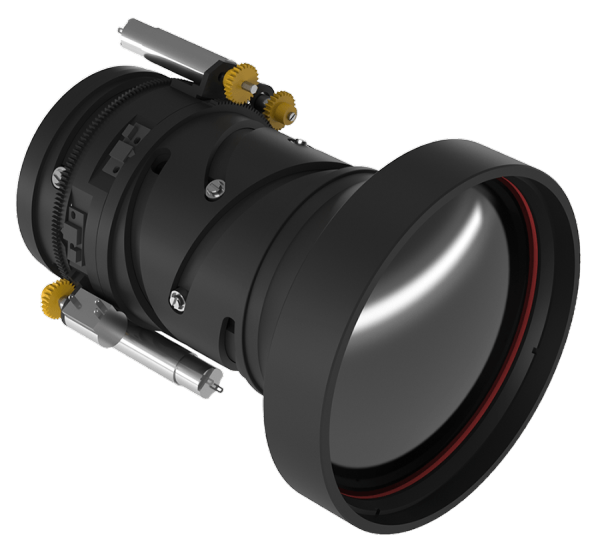 Continuous Zoom Infrared Lens GCZ52512D 25-125mm f/0.8-1.2