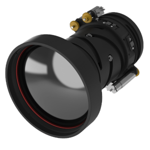 IR zoom lens 25-125mm f/0.8-1.2