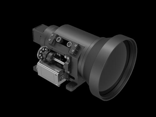 Infrared optical lens  40/120mm f 1.2/0.9  2-FOV