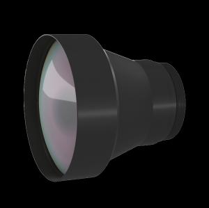 Фиксированный атермализированный объектив LWIR 50 мм f / 1.0