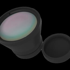 Фиксированный объектив LWIR Lens 25mm f / 1.0 DLC / HC с покрытием для БПЛА