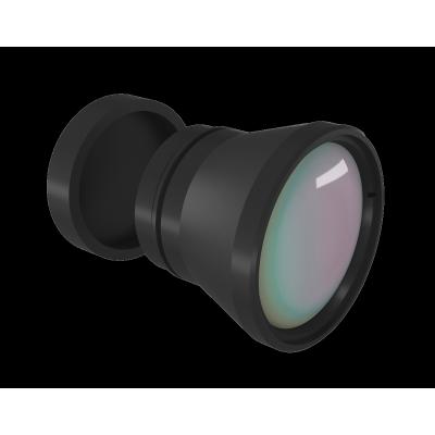 Objectif LWIR fixe 25mm f/1.0 DLC/HC revêtement pour UAV