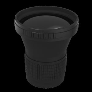 Неохлаждаемая камера с моторизованным фокусом LWIR Lens 100mm f / 1.2