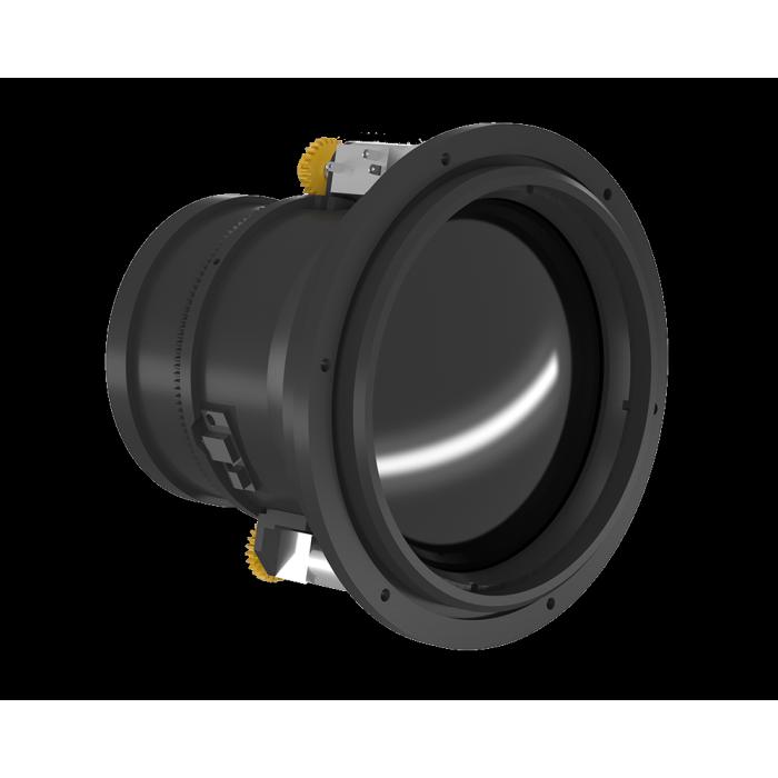 عدسة بمحركات تركيز بالأشعة تحت الحمراء مقاس 75 مم f / 1.0 شفة أمامية