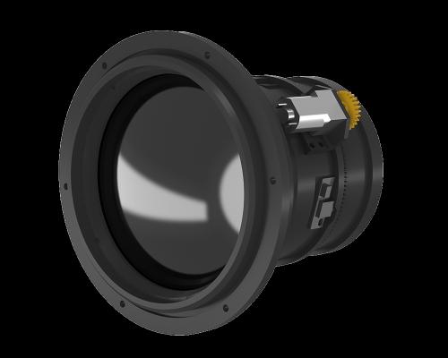 ИК-объектив с моторизованным фокусом 75 мм f / 1.0, передний фланец