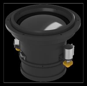 Motorized Focus IR Lens 75mm f/1.0 Front Flange