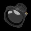 Objectif LWIR à mise au point motorisée 120 mm f/1.4