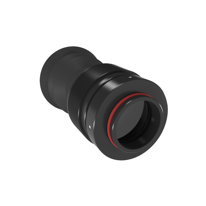 Фокусное расстояние окуляра 25 мм Увеличение = 10 ×