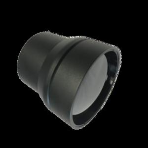 Фиксированный атермализированный объектив LWIR 100 мм f / 1,5 | Внешнее покрытие DLC / HC