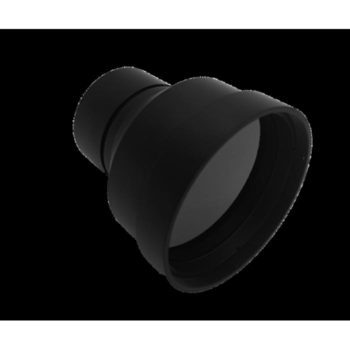 Objectif LWIR fixe 100 mm f/1.2 | Revêtement externe DLC