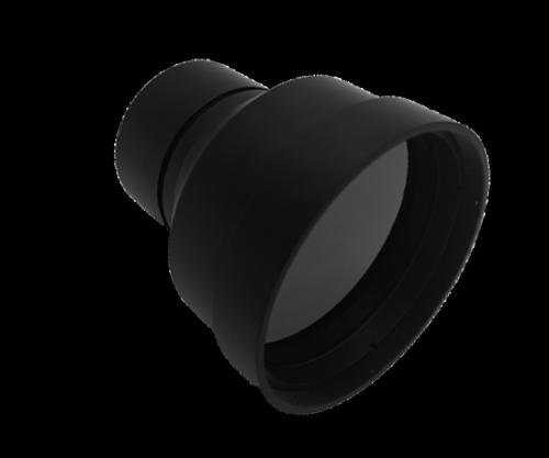 Fixed LWIR Lens 100mm f/1.2 | DLC External Coating