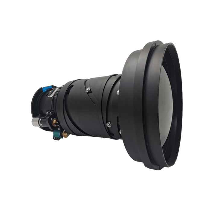 LWIR Continuous Zoom HD Lens 30-150mm f/0.85-1.2
