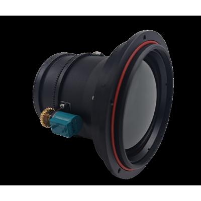 Objectif LWIR à mise au point motorisée 75 mm f/1.0