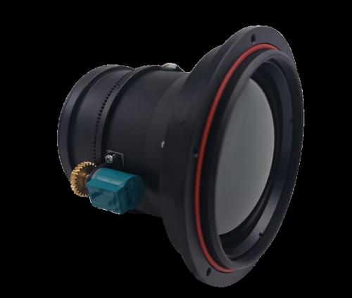 Motorized Focus LWIR Lens 75mm f/1.0
