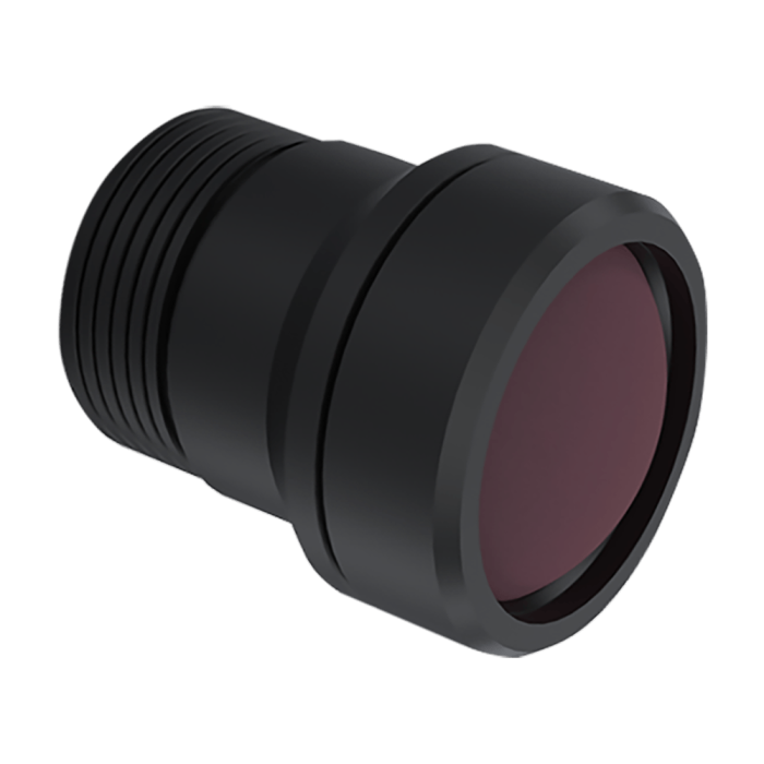Lente con zoom lwir mini lente de 4 mm f / 1,2 丨