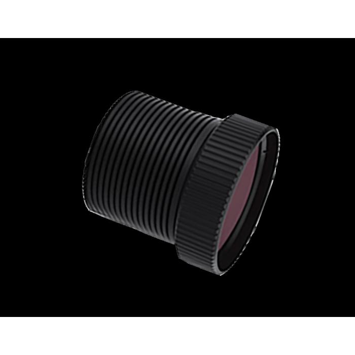 عدسة LWIR ثابتة مقاس 7.5 مم f / 1.0 طول بؤري صغير