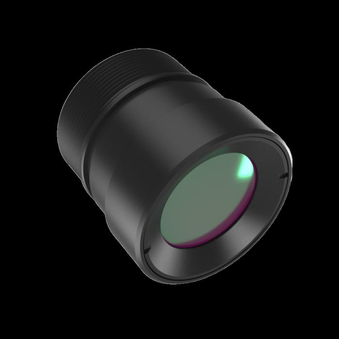 Lente LWIR Atermalizada Fija 19 mm f / 1.0