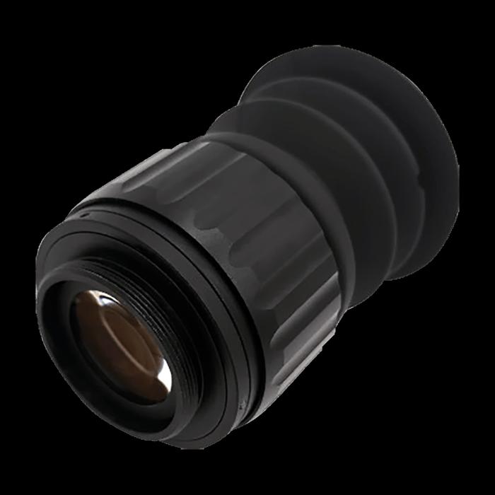 Фокусное расстояние окуляра 18 мм Увеличение = 14 ×