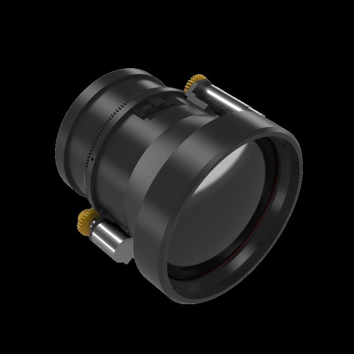 Objectif IR à mise au point motorisée 75 mm f/1.0