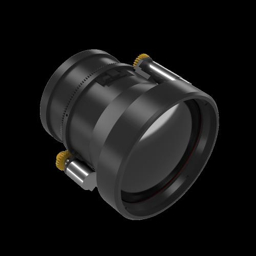 ИК-объектив с моторизованным фокусом 75 мм f / 1.0
