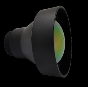 Фиксированный атермализированный объектив LWIR 75 мм f / 1,2