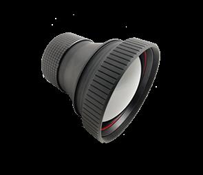 Athermalized Manual Focus LWIR Lens 75mm f/1.0 DLC Coating