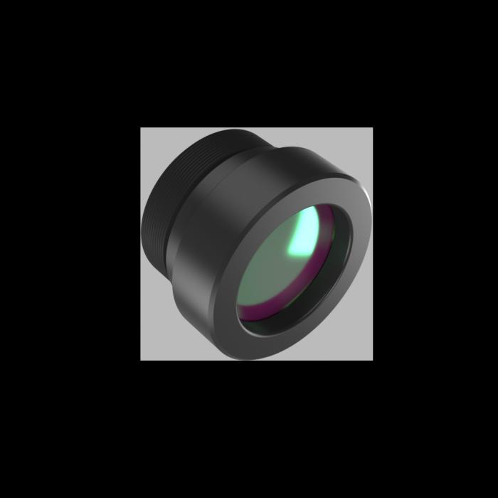 Lente LWIR Atermalizada Fija 13 mm f / 1.0