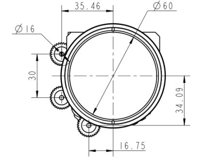 Инфракрасный непрерывный зум-объектив 30-240 мм f / 4,0
