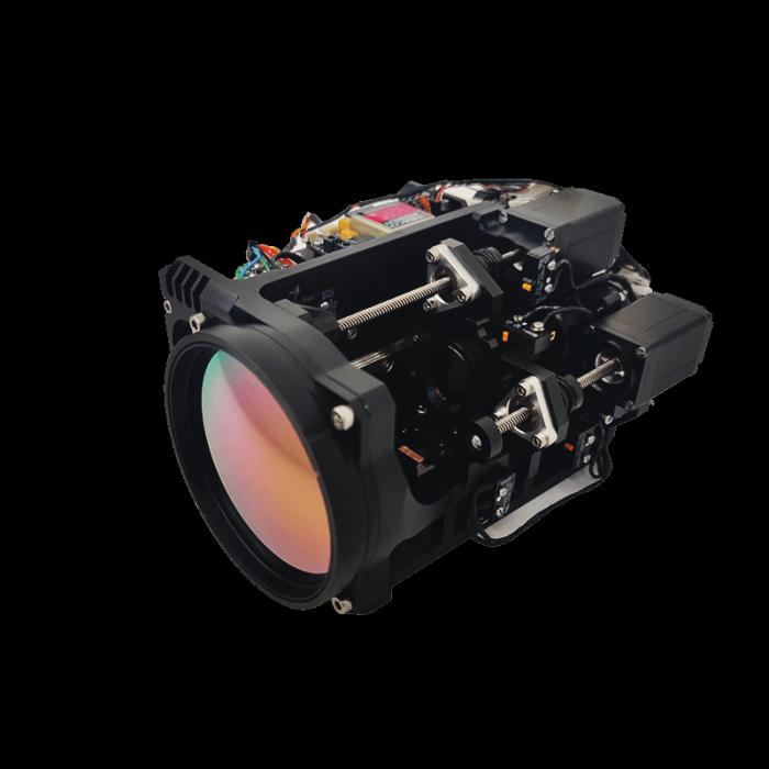 Lente de zoom continuo MWIR 23-450 mm f / 5.5