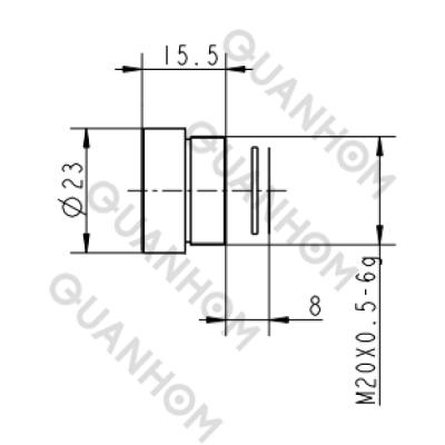 Thermal Imaging Lens 13mm f/1.0