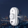 Round smart robot for household window cleaning