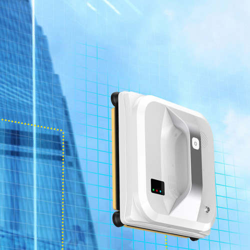 Household square vacuum window cleaning robot